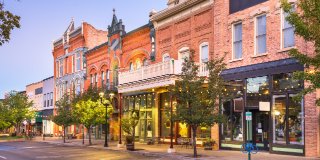 Downtown businesses that are impacted by millage rate