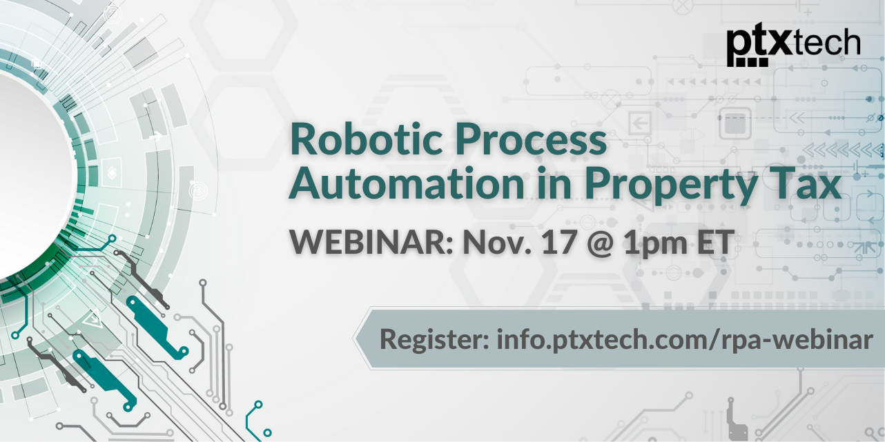 Robotic Process Automation in Property Tax Webinar